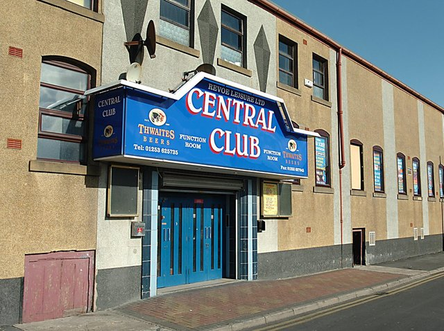 The former Central Club was being used as a cannabis farm
