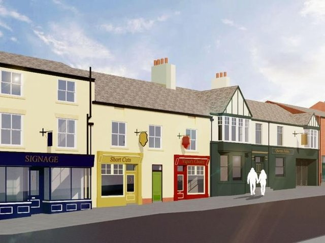 How Poulton Street in Kirkham could look