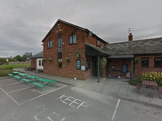 The Plough Inn, where the incident took place