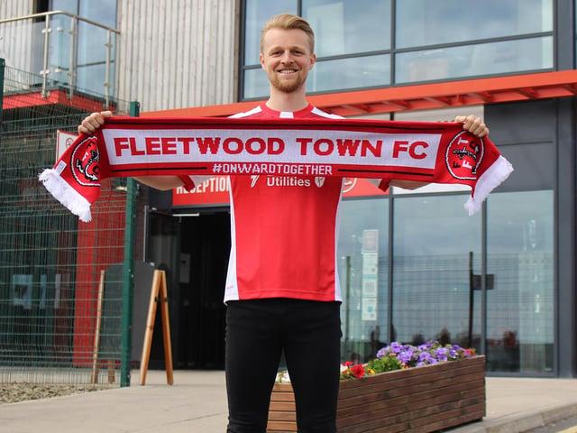 New Fleetwood Town man Max Clark. Credit: FTFC.