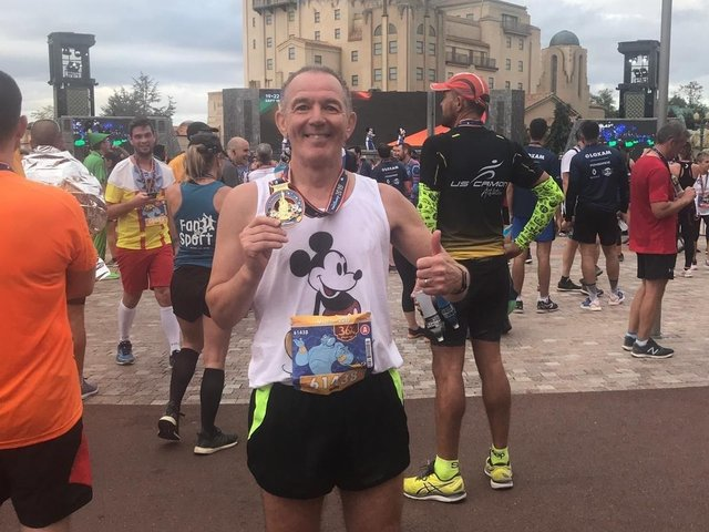 Fleetwood GP Mark Spencer is in training for his 10th London Marathon