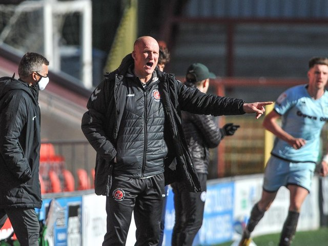 Simon Grayson will take his players to Scotland before returning for a friendly with Huddersfield Town Picture: Stephen Buckley/PRiME Media Images Limited