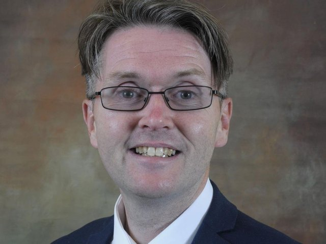 """Anchorsholme councillor Paul Galley accused a contractor working on Lidl car park of """"reversing into"""" him with a tarmacking vehicle, and demanded an apology for residents from the retailer."""
