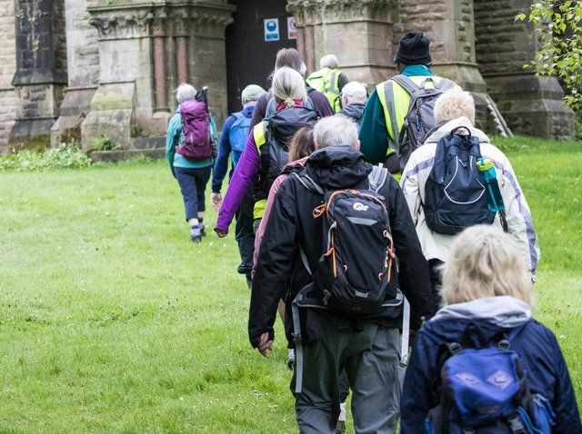 Walkers enjoy a ramble during a previous Garstang Walking Festival. The festival returns in summer 2021 after a pandemic interruption. Picture: MIKE COLERAN PHOTOGRAPHY