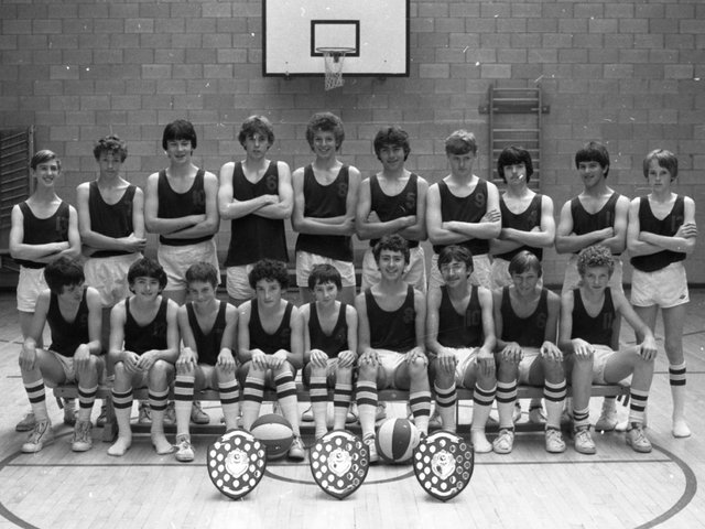 A small school with big sporting ambitions - that is All Hallows RC High. Although only having two full-time physical education teachers the school, situated in a beautiful corner of Penwortham, Preston, is beginning to compete with the area's bigger outfits And for the boys under 14s and under 16s basketball teams pictured above, that means winning!