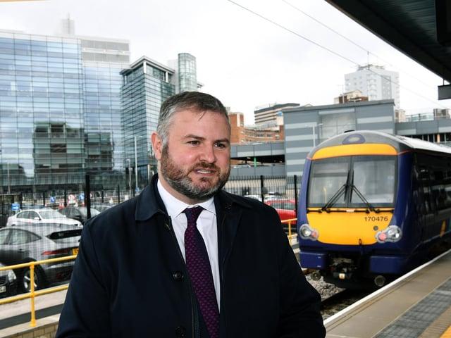 Minister Andrew Stephenson