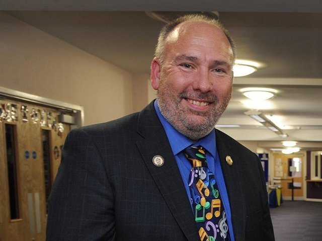 """Anchorsholme Academy headteacher Graeme Dow said the recent number of pupils being sent home from Blackpool schools was """"far worse"""" than at any other point during the pandemic."""