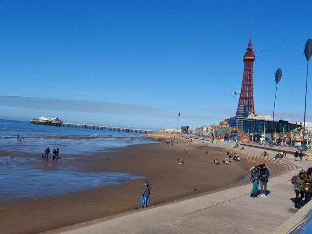 Blackpool is set to welcome back the sun this weekend after a week filled with showers. Pic: JPI Media