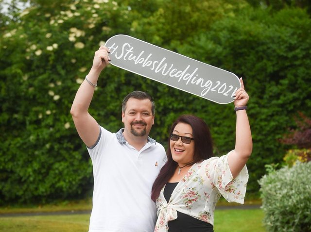 Mike Stubbs and Julianna So will tie the knot today