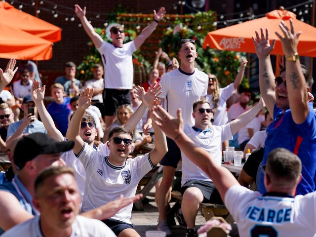 Employers are being urged to make arrangements for workers to watch Euro 2020 games