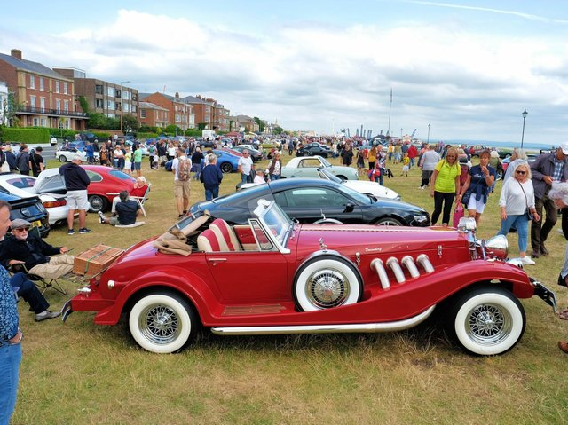 The Classic Car Show on Lytham Green