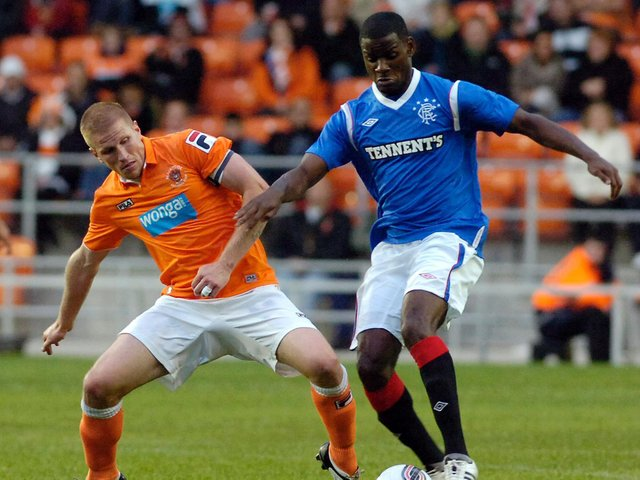 The Seasiders took on Rangers ahead of their 2011/12 Championship campaign