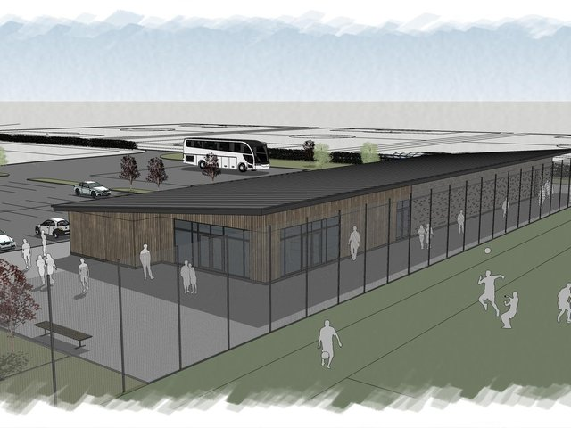Cassidy and Ashton's new sports facilities at Blackpool Airport Enterprise Zone