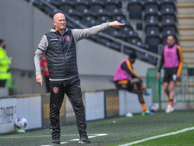 Simon Grayson hopes for a 'full house' for Fleetwood Town's game against Leeds United at the end of the month