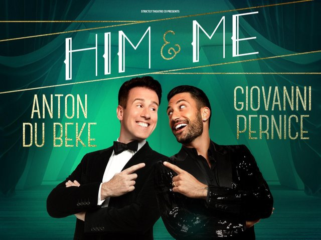 Anton Du Beke and Giovanni Pernice star in their first ever tour together in Blackpool at the Opera House