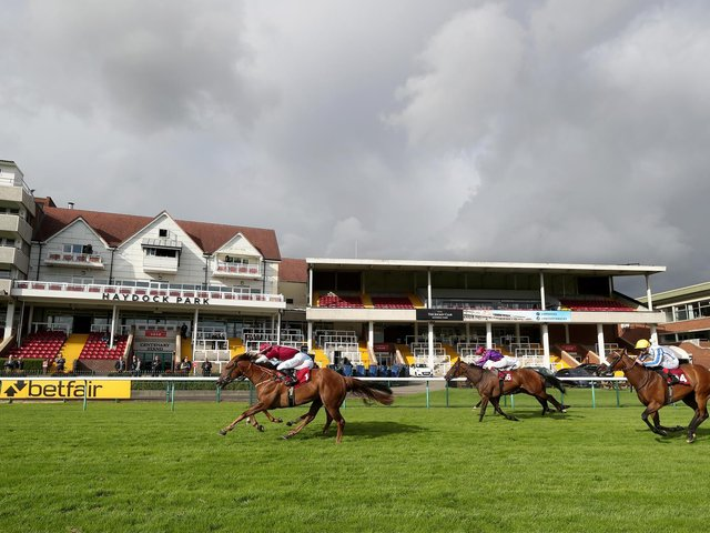 Haydock Park stages more racing action on Friday evening