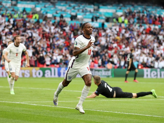 Raheem Sterling has been in excellent form for England