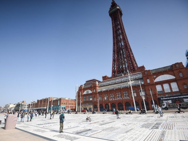 It's going to be a wet weekend in Blackpool as England faces off against Ukraine in the Euros quarter-final match on Saturday.