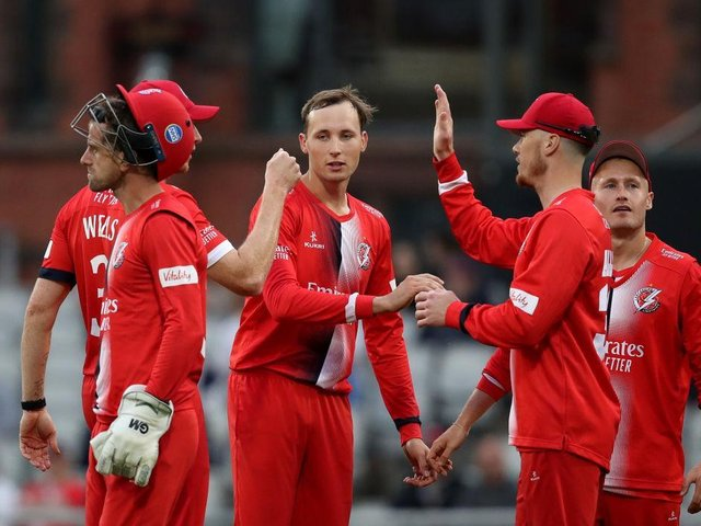 Tom Hartley in match-winning form for Lancashire against Worcestershire at Emirates Old Trafford