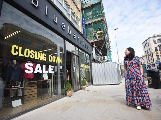Sarah McConville to close the doors of her Blueberries branded clothing store on Topping Street in August
