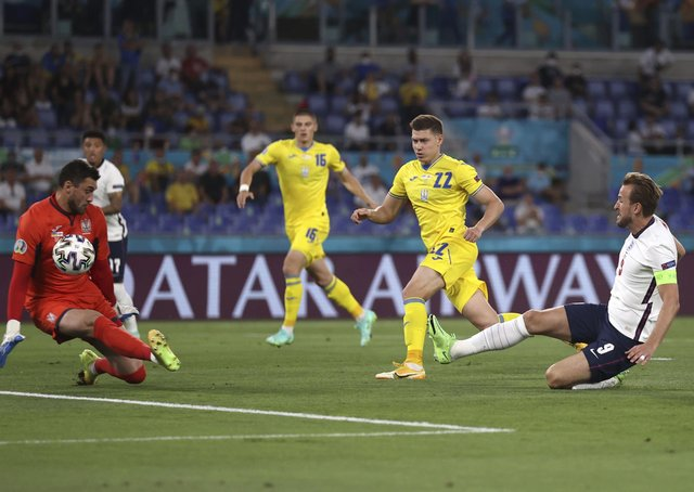 Harry Kane gives England a dream start in Rome with the opening goal against Ukraine
