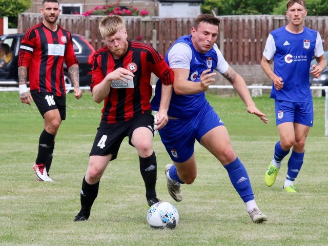 Squires Gate saw off Poulton on Saturday Picture: Ian Moore
