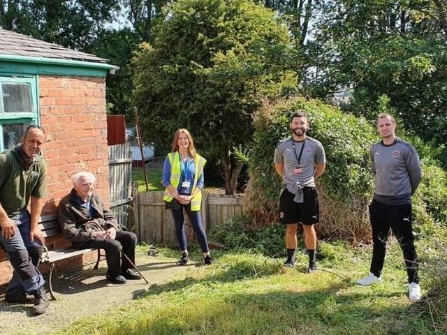 A tidier garden helps Ronald to spend more time outside over summer