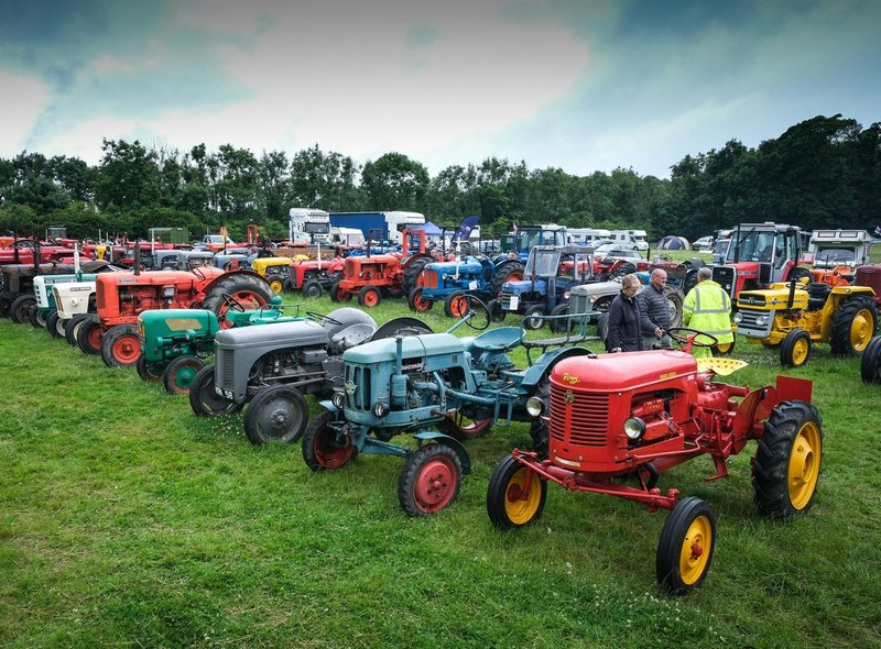 The show featured a vast range of farm vehicles.