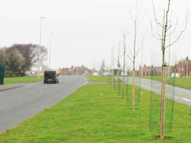 The dual carriageway is described as 'challenging' for cyclists