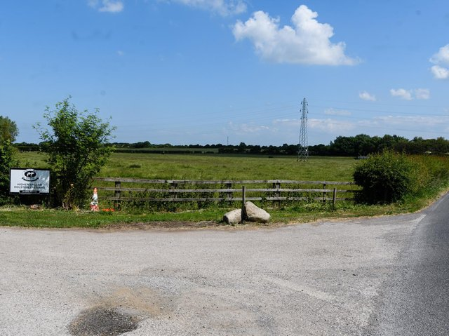 Lawns Farm, Ballam Road, Lytham is the site of the proposed solar energy installation