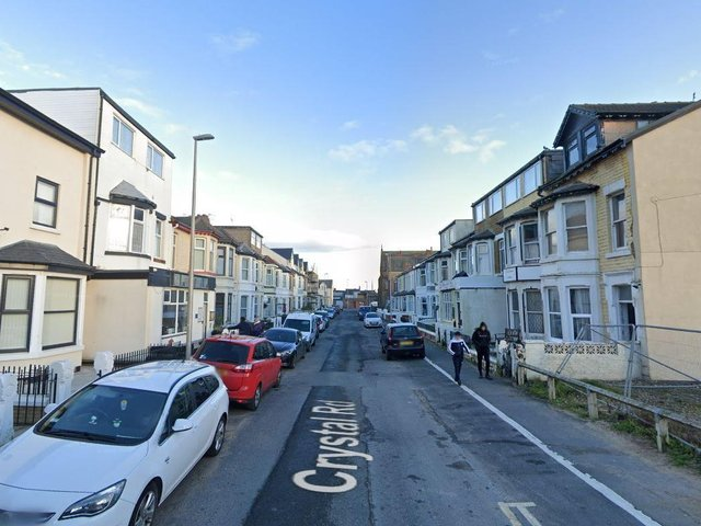 Officers were called by paramedics to reports of a sudden death at an address in Crystal Road. (Credit: Google)