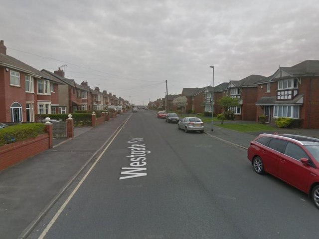 One fire engine from St Annes attended the scene in Westgate Road. (Credit: Google)
