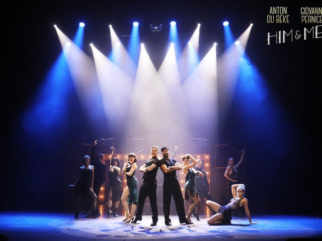 Anton Du Beke and Giovanni Pernice in Him and Me - opening night at the Opera House, Blackpool