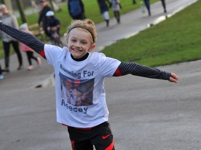 Two resort junior football teams are cycling a 90-mile round trip from Common Edge playing fields to Anfield Stadium this weekend in memory of Jordan Banks, nine.