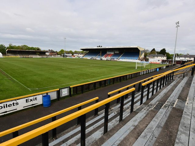 Haig Avenue is the venue for Blackpool's first summer friendly