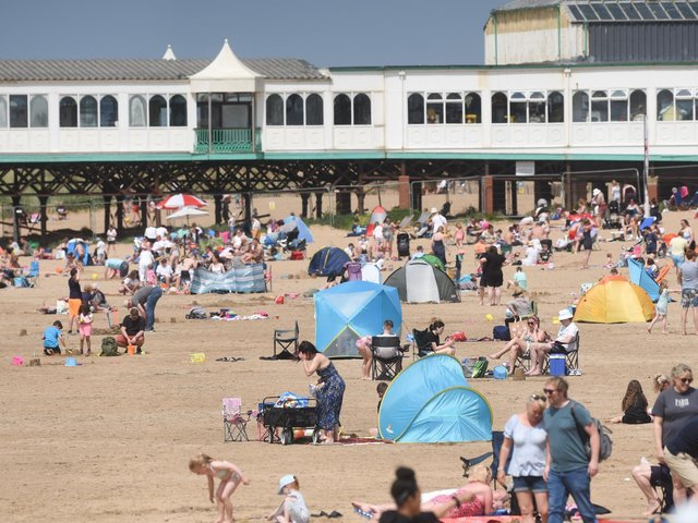 During busy weekends, Blackpool Police and Lytham Coastguard said they hoped volunteers would help to alleviate the pressure on their teams when children are reported missing on Blackpool and St Annes beaches. Pic: Daniel Martino/JPI Media
