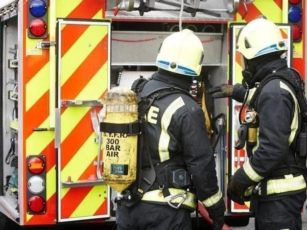 Two fire engines from Blackpool attended the scene in Teal Court.