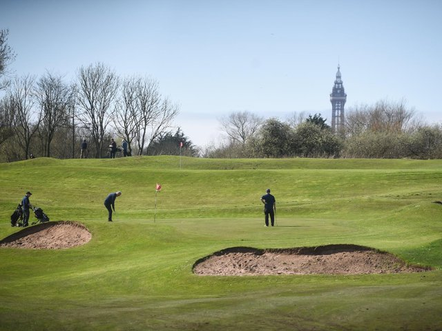 Stanley Park golf course is at the centre of a controversial plan for a new attraction for Blackpool