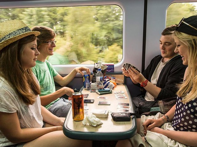 Lucky winners will be entitled to free rail travel across Britain for a year.