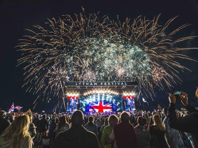Lytham Festival when it was last held in 2019