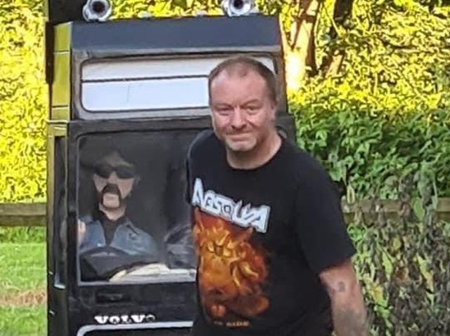 Phil Frain is planning to pull his truck to Blackpool from Bolton.