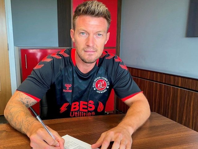 Anthony Pilkington has signed a one-year deal at Highbury Picture: Fleetwood Town