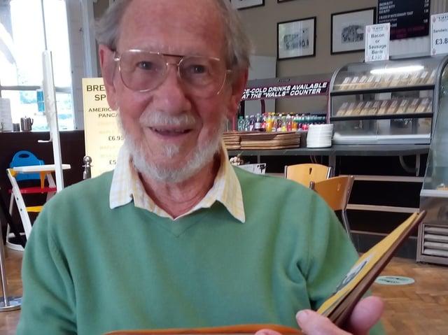 Book prize winner Ken Dagger