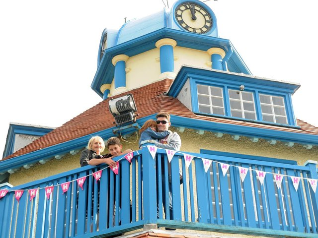 A family visits Mount Pavilion in Fleetwood at one of the Heritage Open Days in recent years. The pavilion has recently undergone a huge refurbishment.