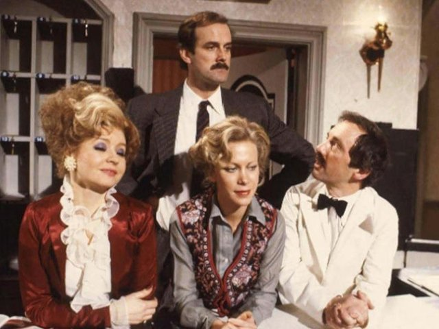 Fawlty Towers came in second on the list