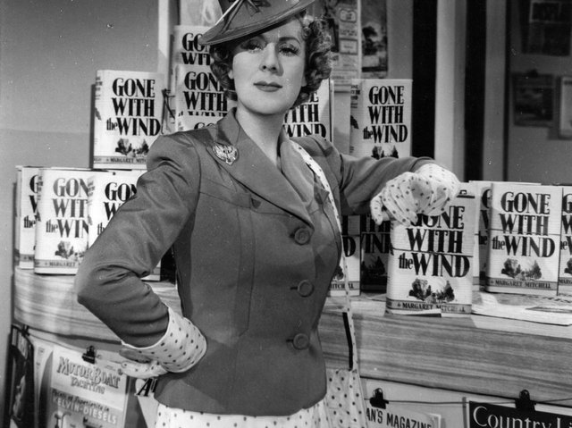 Cicely Courtneidge in the spy film Under Your Hat, 1940. Pic: Getty Images
