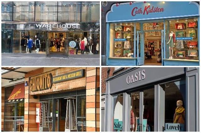 Shops and restaurants