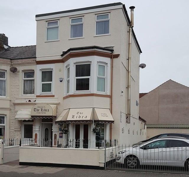 Libra Hotel, Palatine Road, Blackpool, FY1 4BT