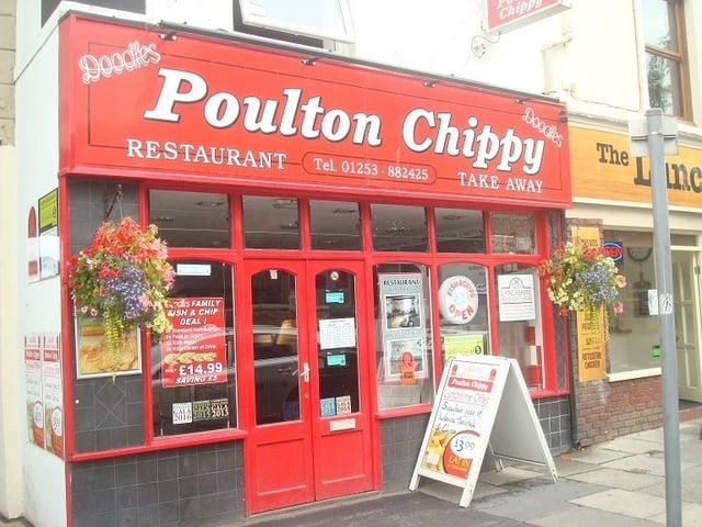 Doodles Poulton Chippy, Ball Street, Poulton, FY6 7BA
